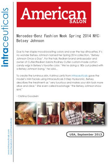 メルセデス ベンツファッション ファッションウイク2014